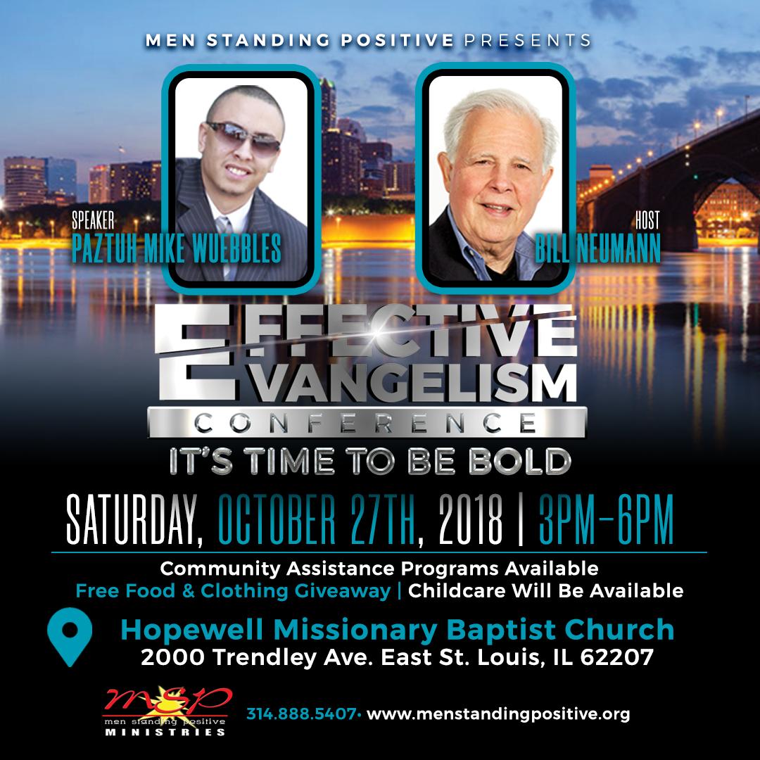 2018 MSP Effective Evangelism Conference – Men Standing Positive